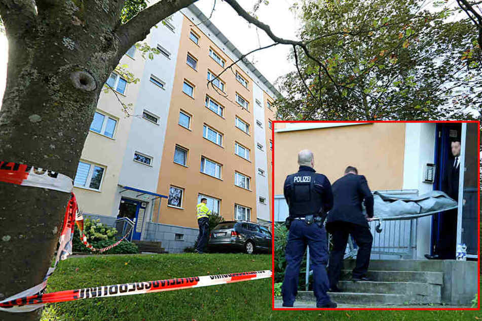 Frau tot in Wohnung, Mann schwer verletzt: Was geschah im Plattenbau?