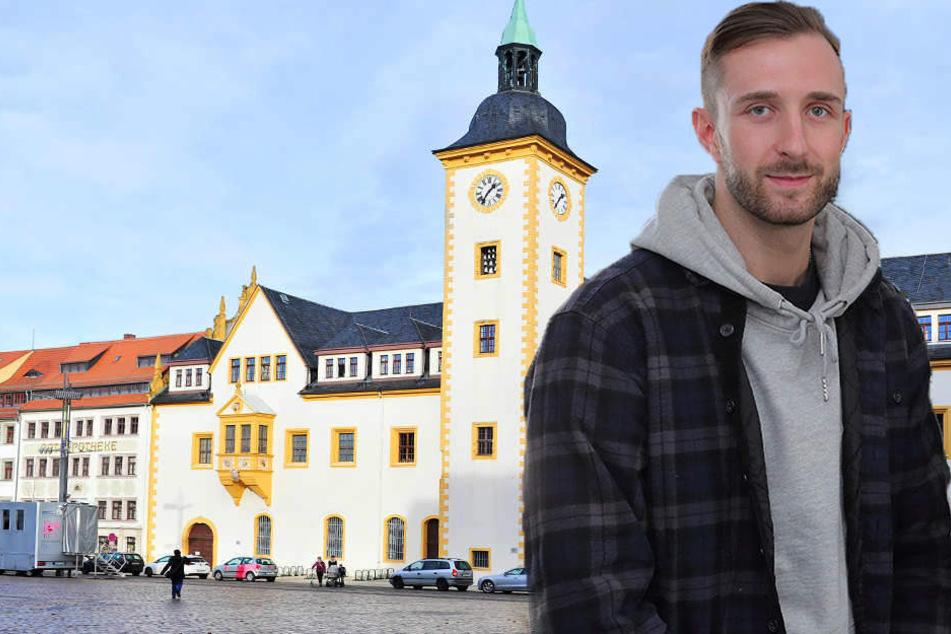 Thomas Hoffmann vom Flüchtlingsrat kritisiert Freiberg für den Antrag für eine Aufnahmesperre.