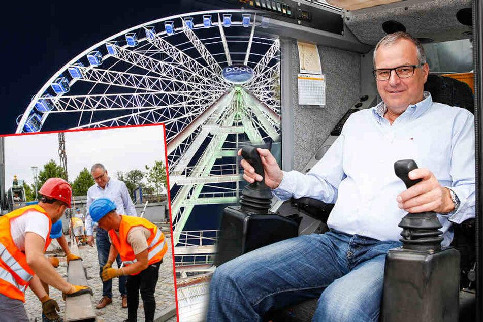 Das gab's noch nie! Riesen-Riesenrad kommt nach Dresden