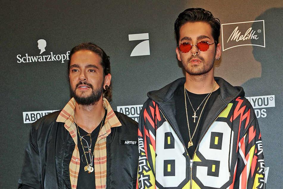 Die Zwillingsbrüder Tom und Bill Kaulitz stehen sich sehr nahe.