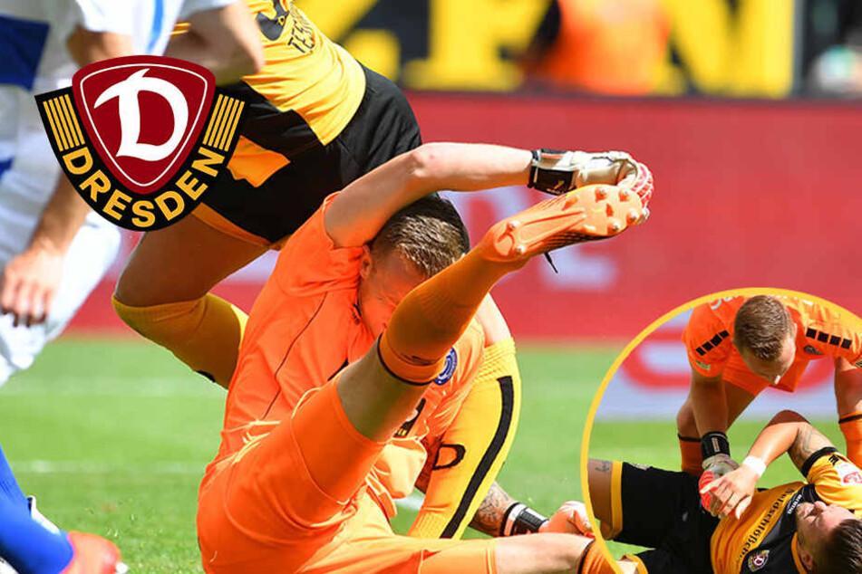 Dynamos Auftaktsieg von Testroets Horrorverletzung überschattet
