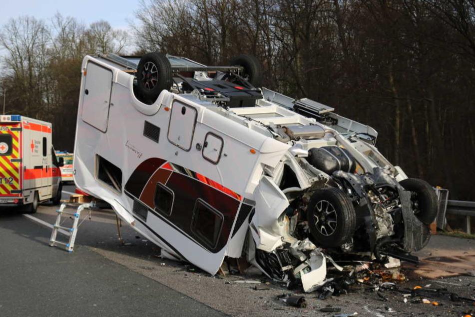 A67 nach tödlichem Unfall bei Gernsheim in Richtung Darmstadt gesperrt