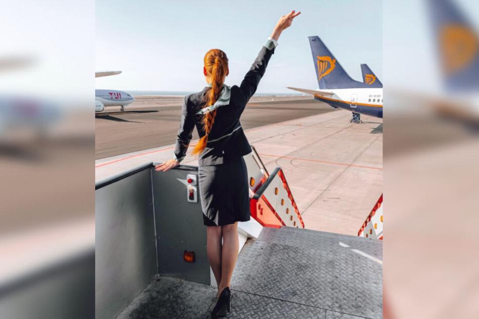 Die Flugbegleiterin musste sich am Mittwoch endgültig von ihrem Arbeitgeber verabschieden.