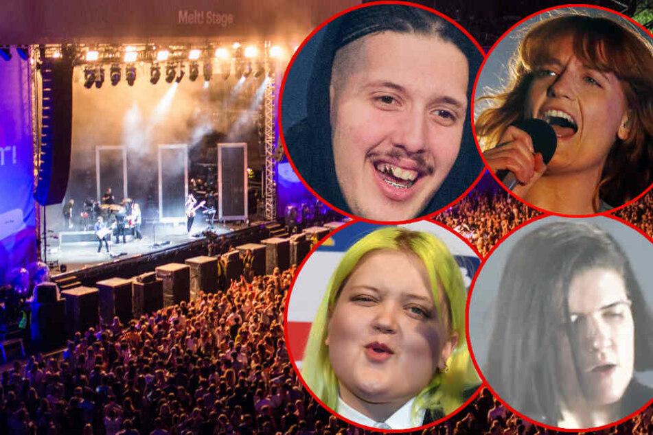 Melt-Festival in Ferropolis: Das sind die großen Stars des Wochenendes