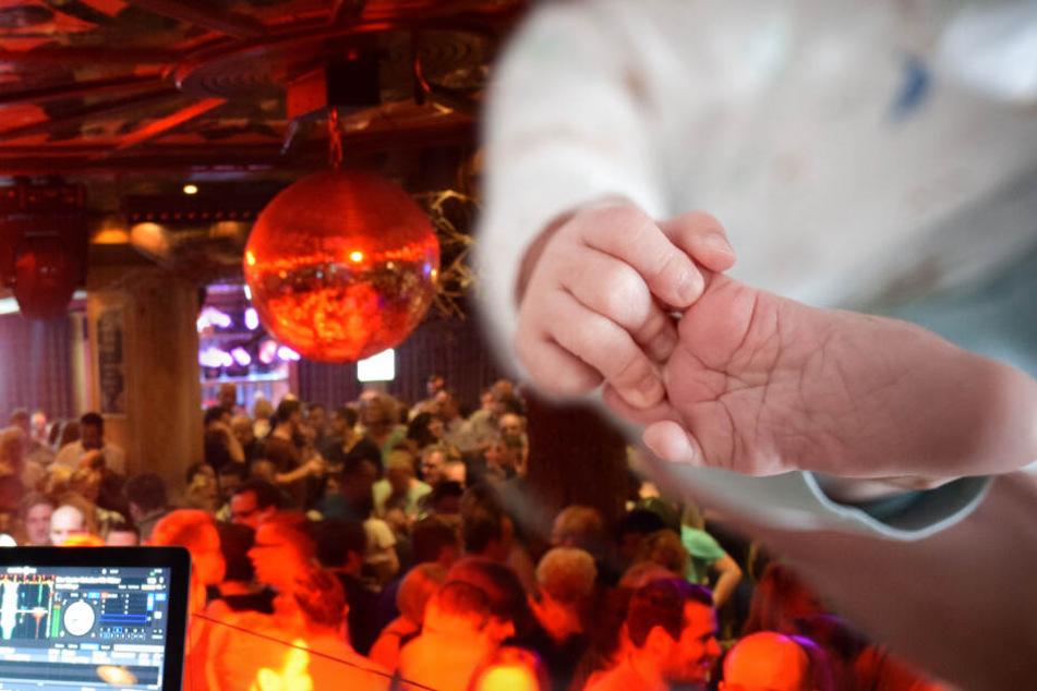 Gaststätten-Personal bringt Baby während Schlager-Party zur Welt