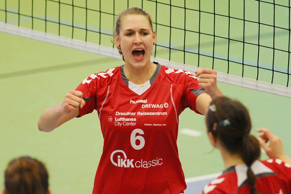 Super Nachrichten für den DSC: Barbara Wezorke kommt zurück nach Dresden.