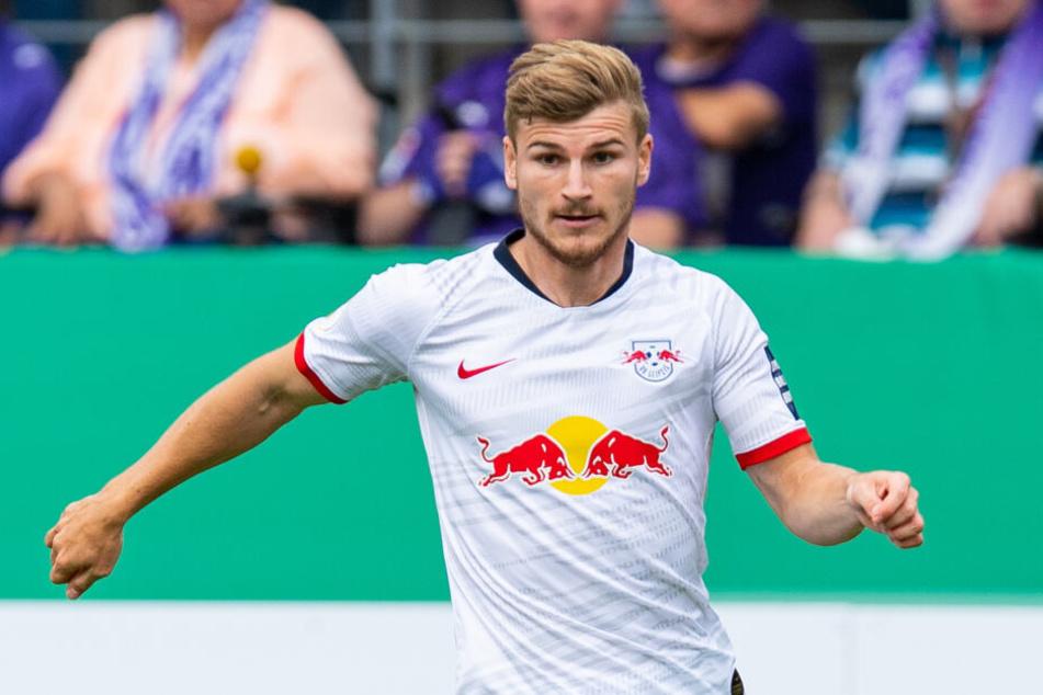 """RB Leipzigs Torjäger Timo Werner will mit den Roten Bullen in dieser Saison """"etwas erreichen""""."""