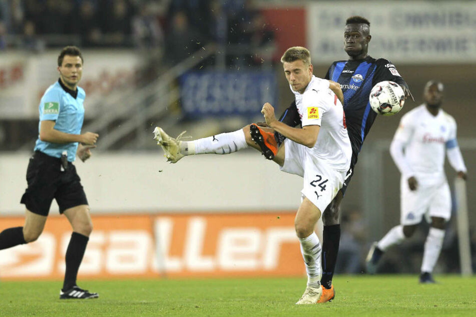 Den ersten Treffer für den SCP erzielte Babacar Gueye nach grade mal neun Sekunden.