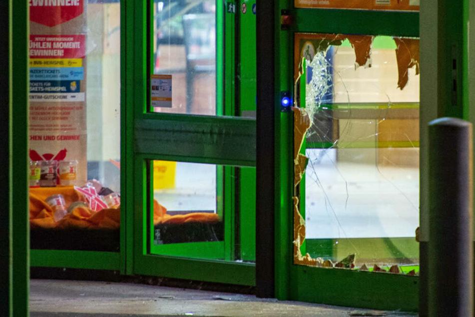 Täter sprengen Geldautomaten in Erfurt und richten großen Schaden an