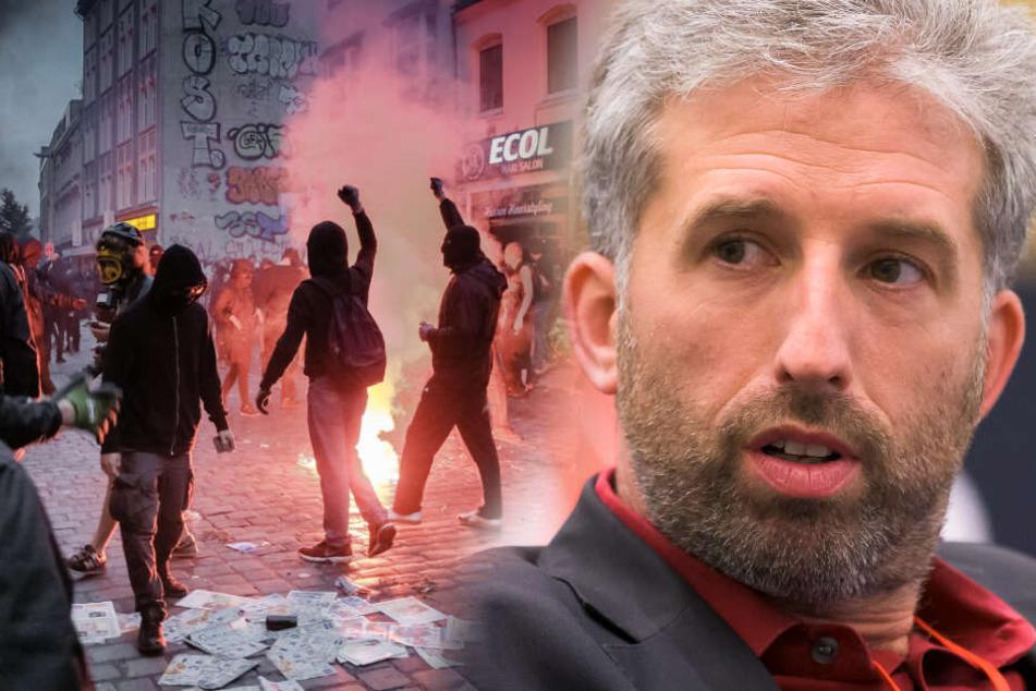 Nach linken Aktionen: Boris Palmer über linksextreme Gewalt