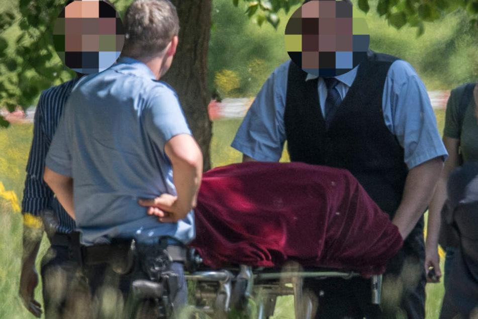 Die Leiche der 29-Jährigen wurde am Mittwochmorgen im Niddapark entdeckt.