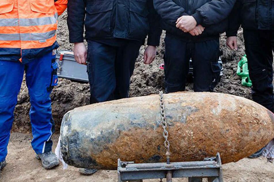 Notfälle - Cottbus - Bombe bei Bauarbeiten in Cottbus entdeckt