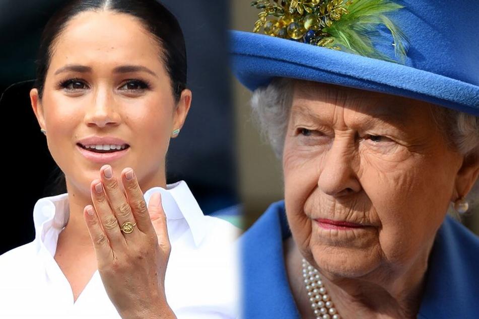 Zoff zwischen Queen Elizabeth und Herzogin Meghan?