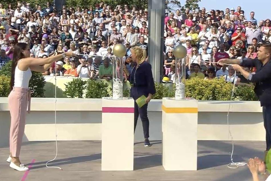 ZDF-Fernsehgarten: Hat Andrea Kiewel bei Auto-Gewinnspiel geschummelt?