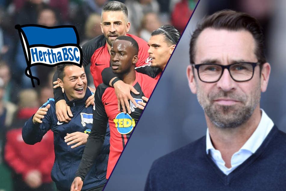 """Zu gut für unten, zu schlecht für Europa? Hertha-Manager Preetz: """"Wo wir hin wollen, ist klar."""""""