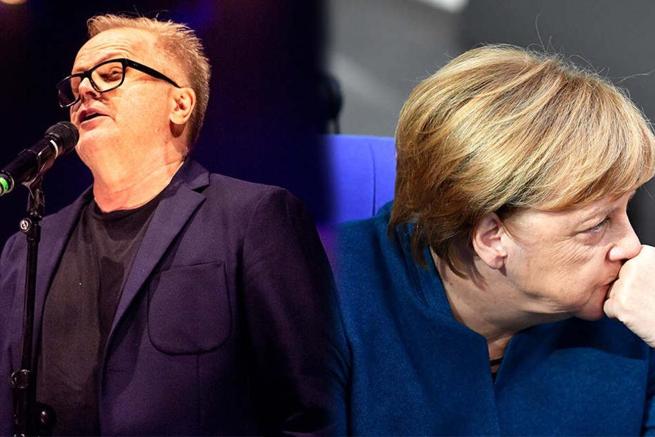 Herbert Grönemeyer (62) wirft der Bundeskanzlerin mangelnde kommunikative Fähigkeiten vor.