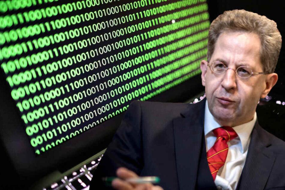 Verfassungsschutz-Präsident Hans-Georg Maaßen (55) warnt vor Cyberattacken.