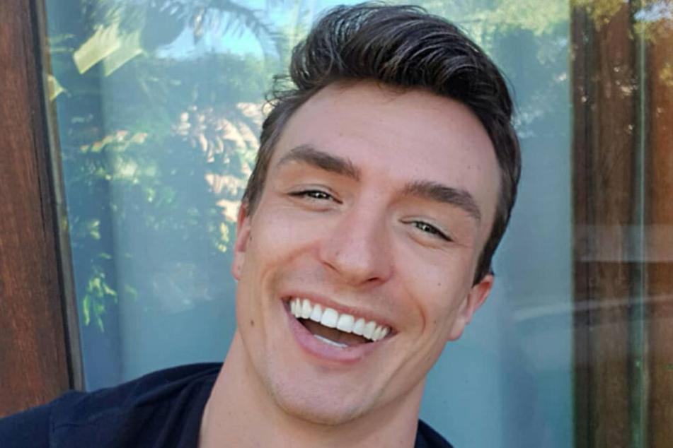"""Maxim war mit Alex gemeinsam in der Kuppel-Show """"Die Bachelorette""""."""