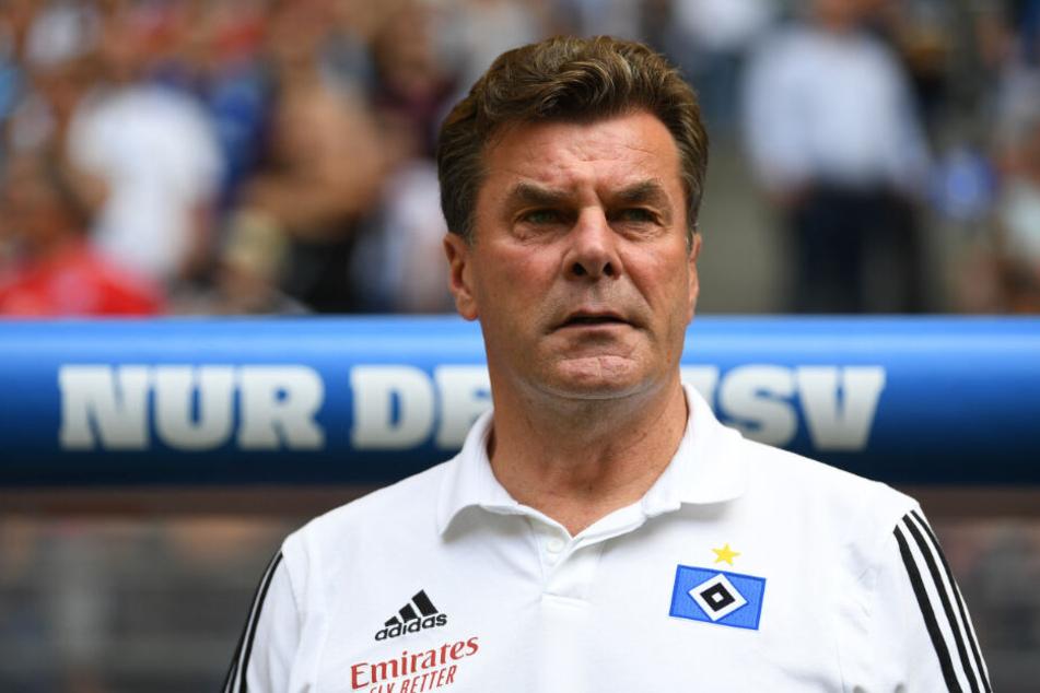 HSV-Trainer Dieter Hecking will an die Leistungen anknüpfen.