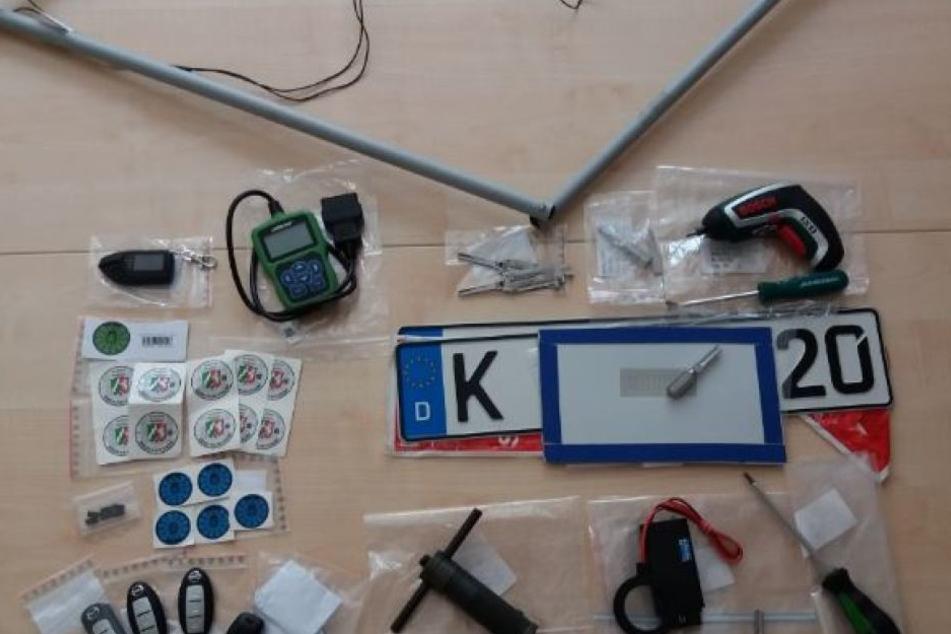 20 Autos gehackt: Hightech-Diebesbande in Köln verhaftet