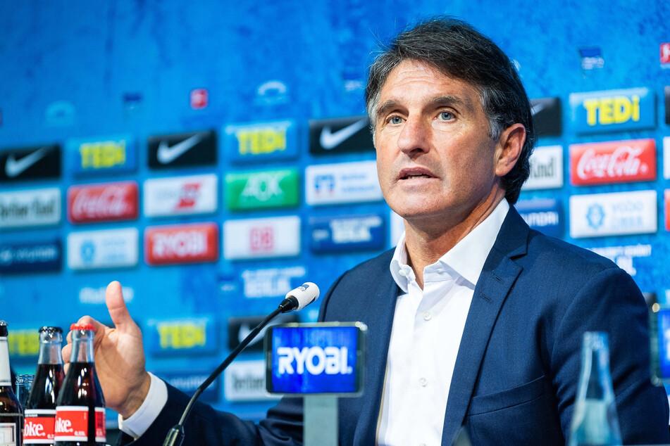 Hertha-Coach Bruno Labbadia bittet um Verständnis für den Torjubel gegen 1899 Hoffenheim.