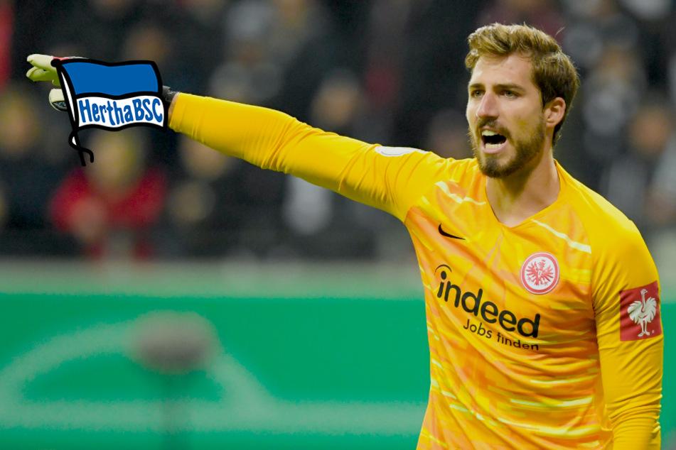 Wird Kevin Trapp neuer Torhüter bei Hertha BSC?