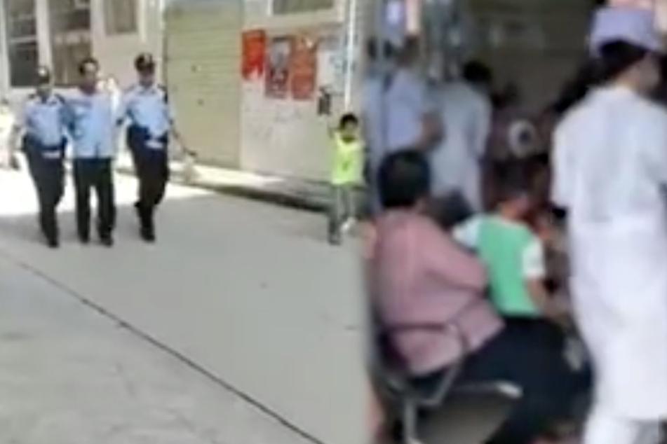 Messerattacke in Grundschule: 40 Kinder verletzt