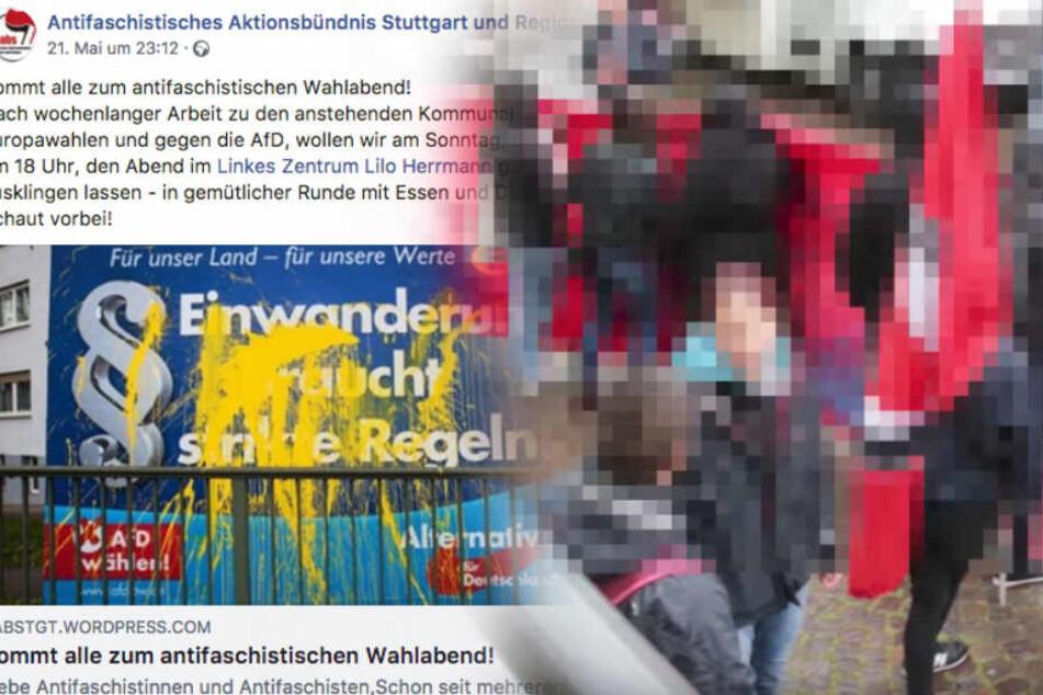 """""""Problem AfD"""": Wollen Linksradikale die Wahlparty am Sonntag stören?"""
