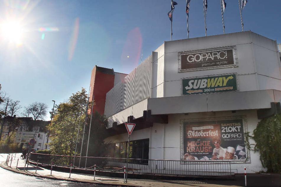 Die Räumlichkeiten der alten Disco werden aktuell auf links gedreht.