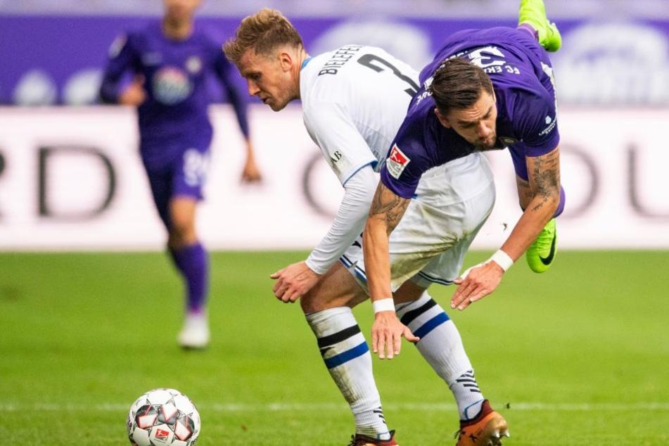 Innenverteidiger Brian Behrendt will gegen den SV Sandhausen punkten.