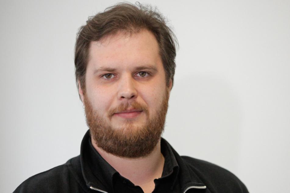 Vincent Drews (32, SPD) kritisiert die geplante Förderung.