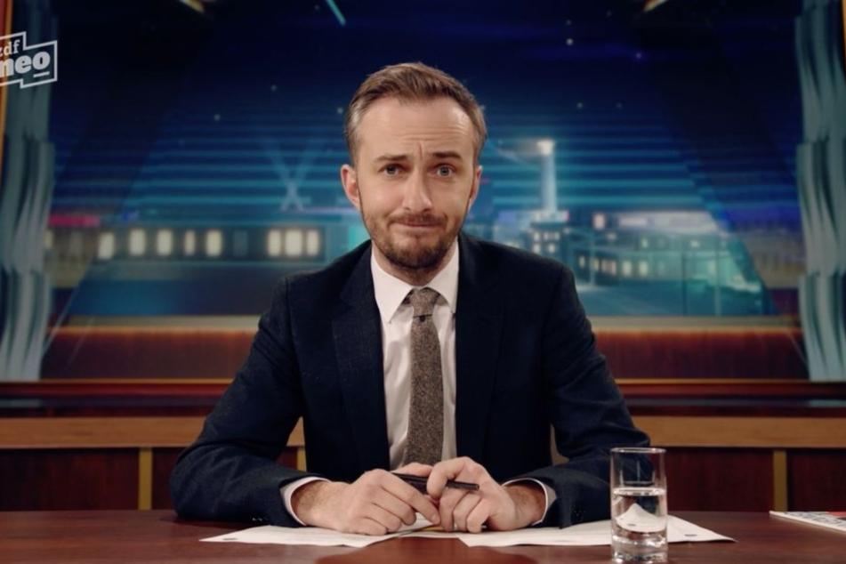 Jan Böhmermann zeigte sich von der Einladung etwas irritiert.