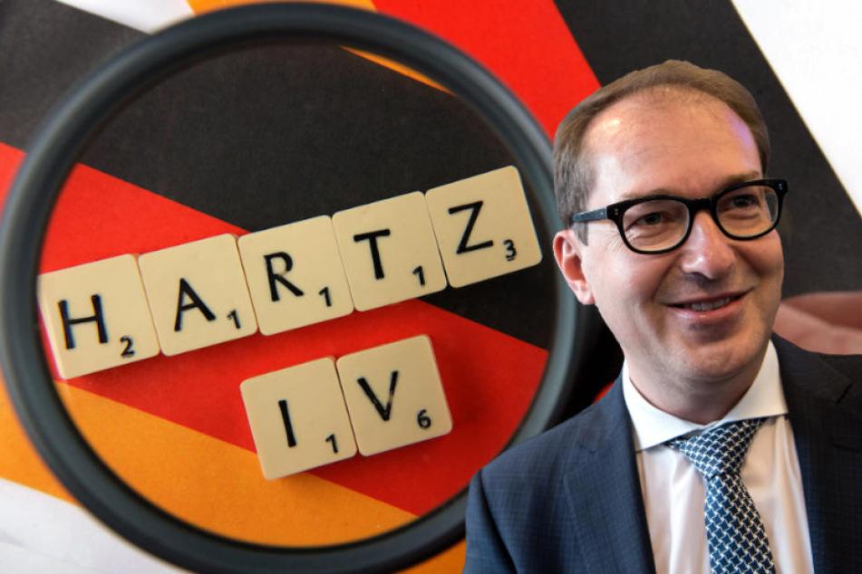 Dobrindt plädiert für Einschnitte bei Hartz IV von abgelehnten Asylbewerbern