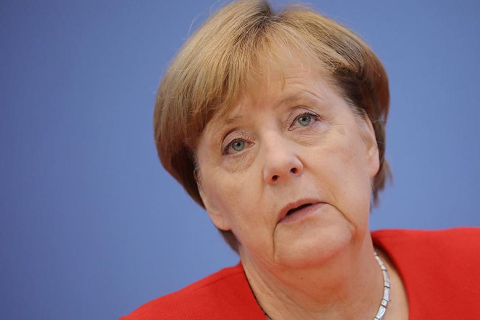 Sie wusste von nichts: Bundeskanzlerin Angela Merkel erfuhr erst im Nachhinein von dem Brief.
