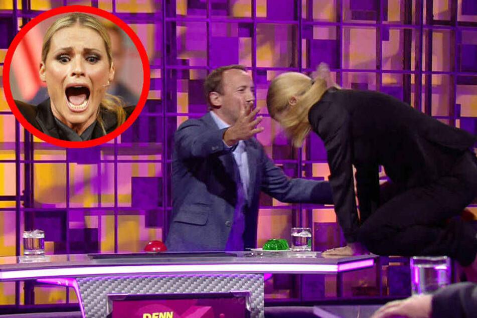 Ups! Michelle Hunziker reißt bei RTL-Show die Hose