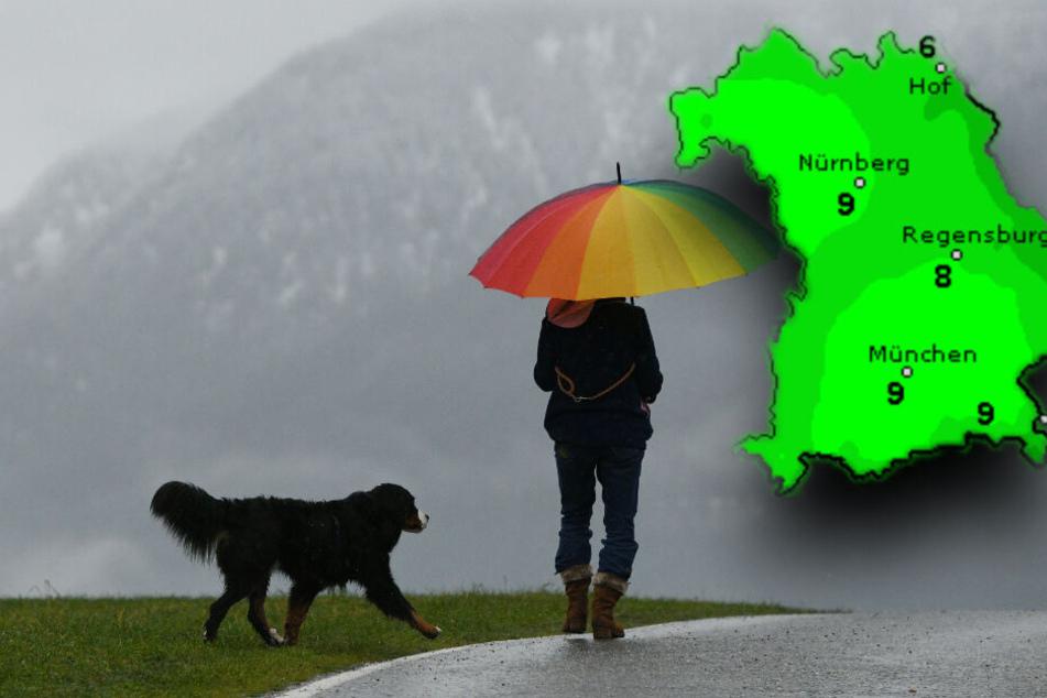 So wird das Wetter am Wochenende in Bayern