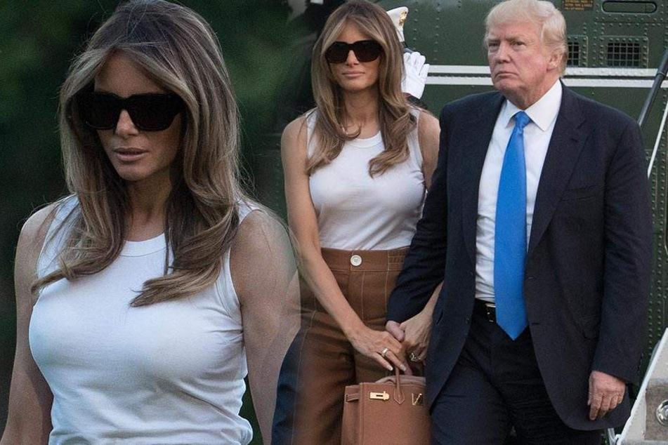 Härtester Tag für Präsident Trump? Melania zieht ins Weiße Haus, ohne ihn anzusehen