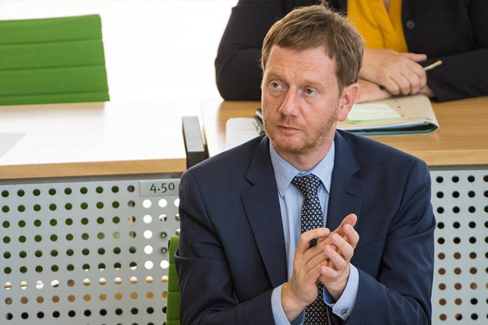 Michael Kretschmer (43, CDU).
