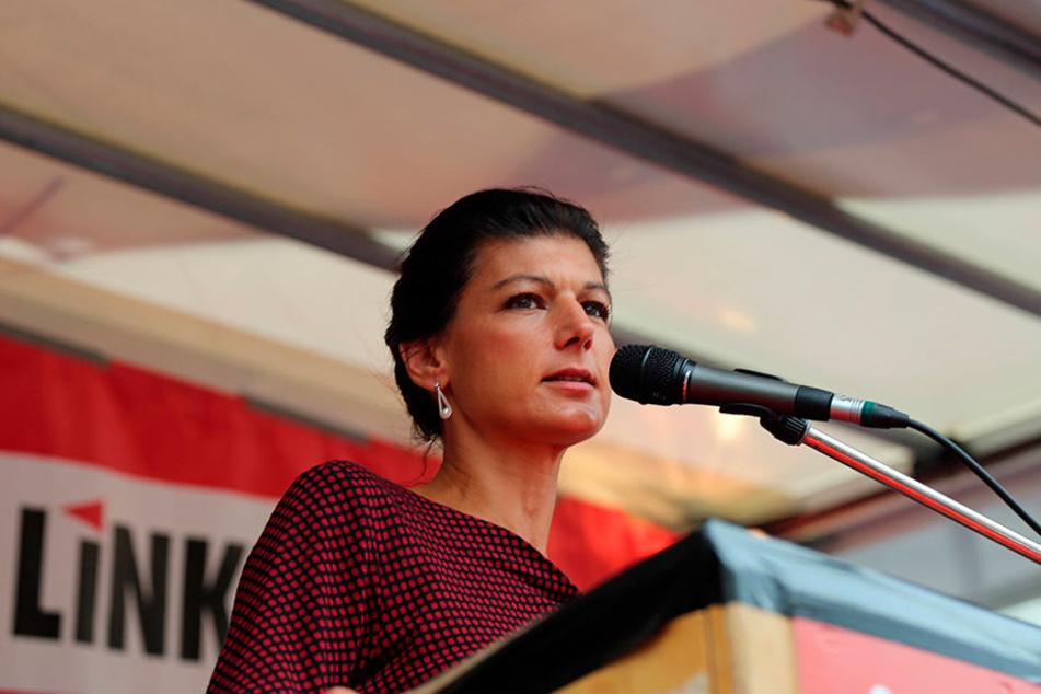 21. September: Wahlkampfabschluss mit Sahra Wagenknecht in Leipzig.