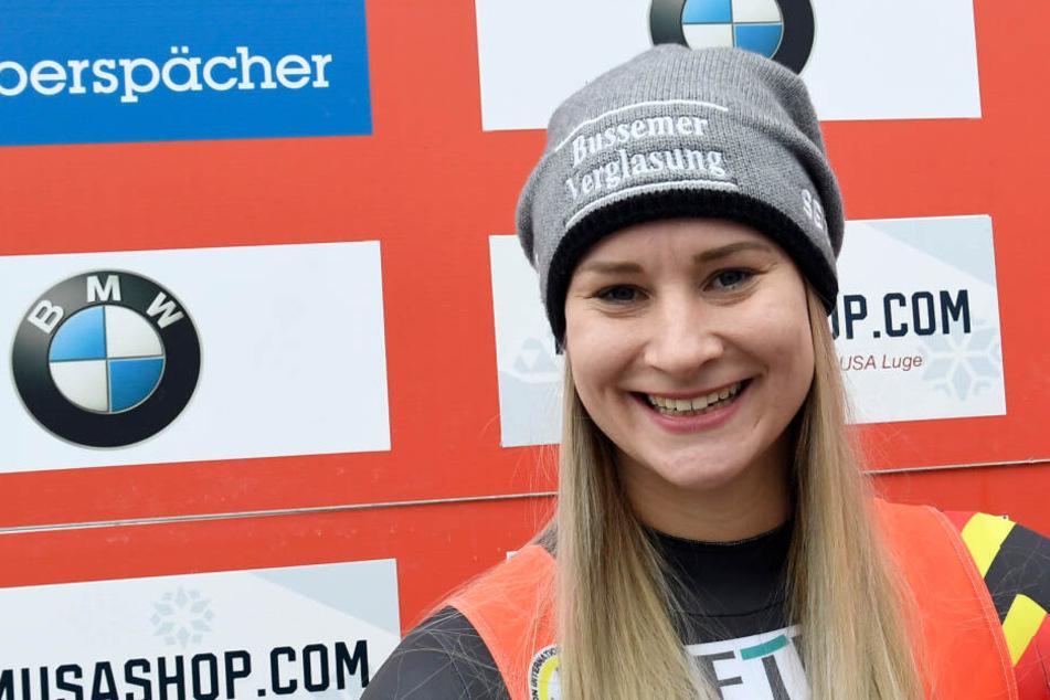 Dajana Eitberger will nach der Geburt wieder in den Leistungssport einsteigen.