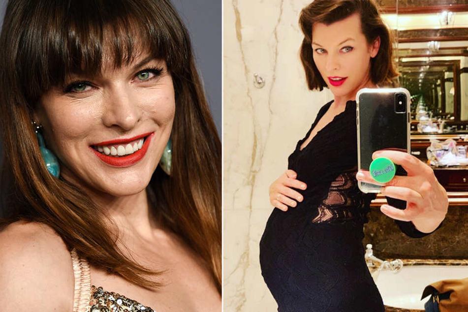 Nach Fehlgeburt-Drama: Milla Jovovich wieder glücklich schwanger