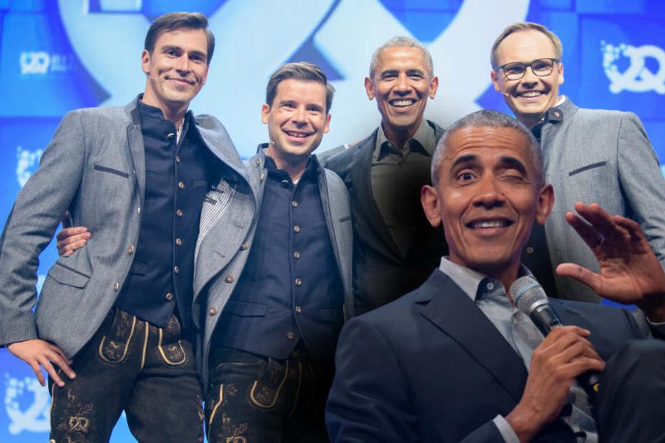 Für Michelle: Ex-Präsident Obama will Lederhosen tragen