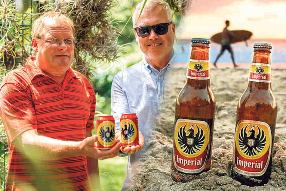 Nach langer Durststrecke: Gartenmeister trinkt Bier aus Costa Rica