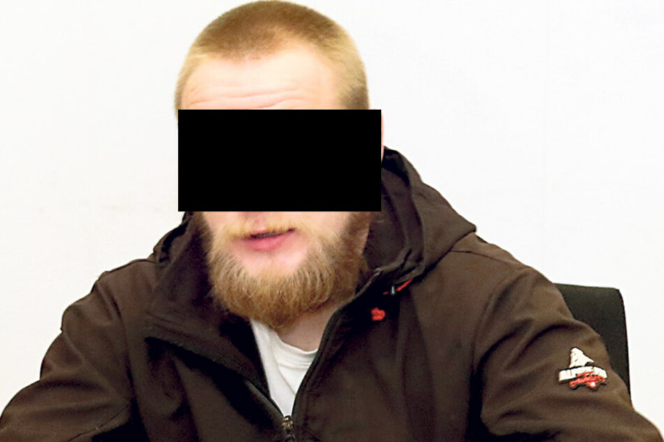 Frank Sch. (29) sitzt bereits im Knast.