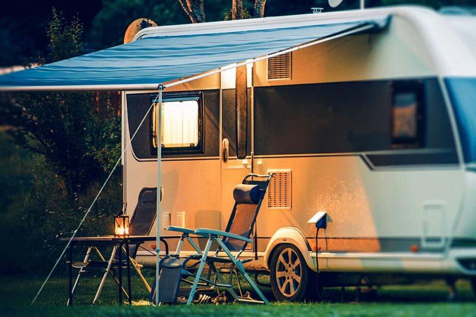 Campingplatz geplündert: Nächtlicher Beutezug in Kleinröhrsdorf