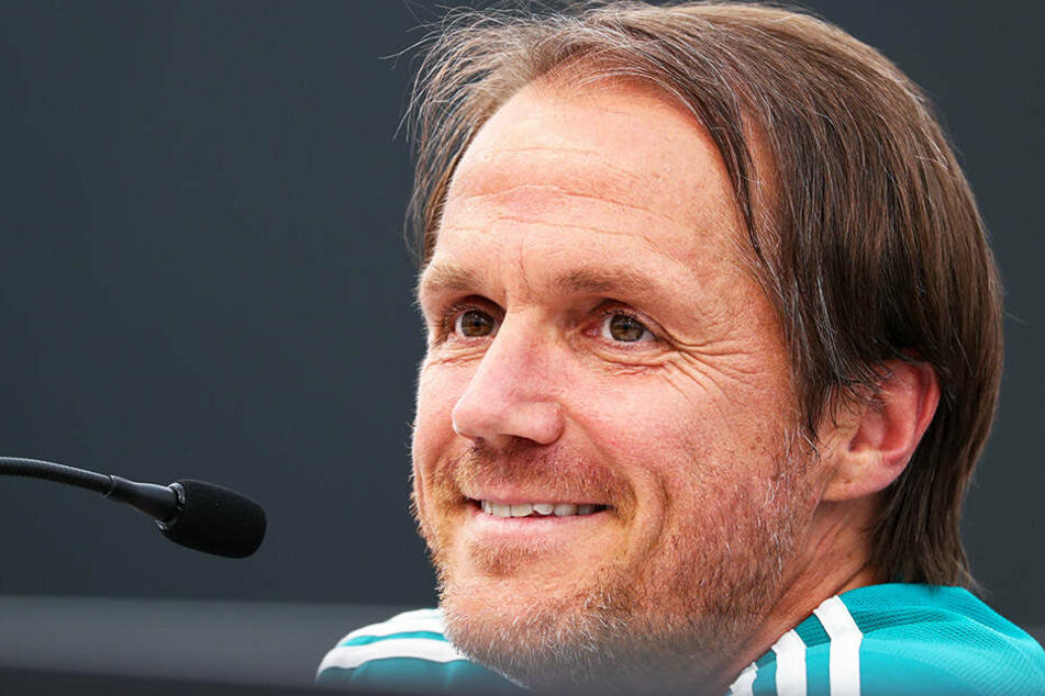 DFB-Co-Trainer Thomas Schneider hofft wie Niklas Süle auf die baldige Rückkehr von Jerome Boateng.