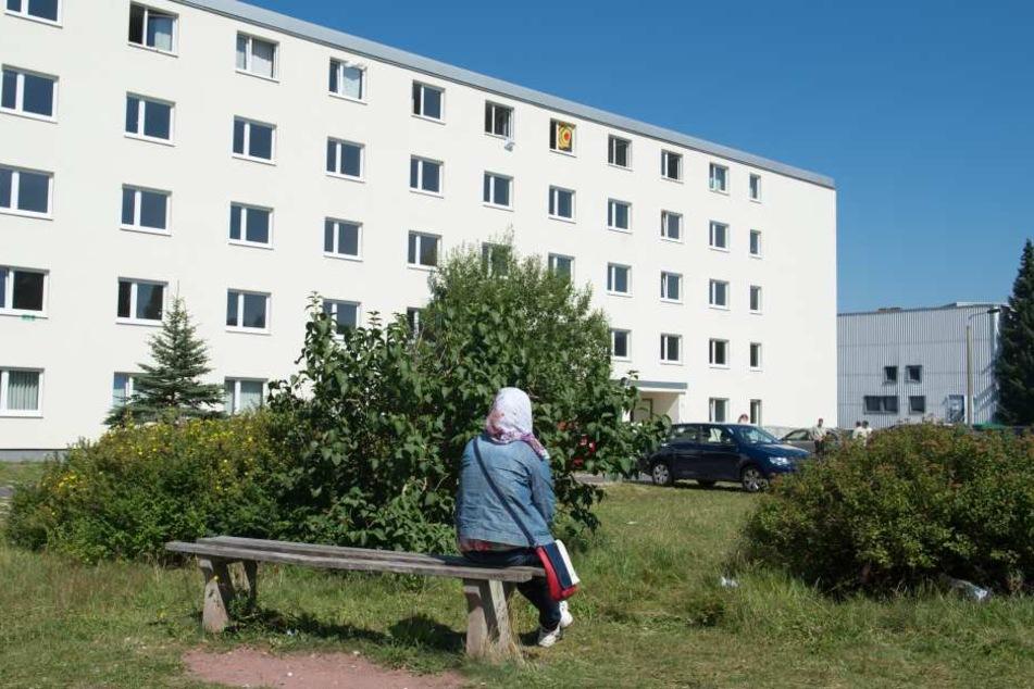 Die Asylunterkunft in Suhl.