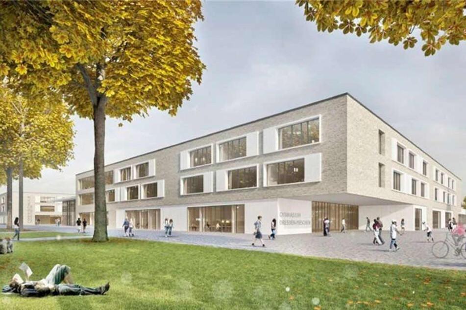 So soll der fertige Campus aussehen.