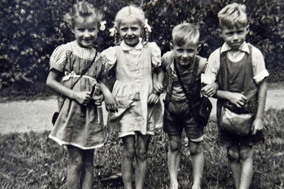 Lang, lang ist's her: Dieses Foto stammt aus dem Kita-Tagebuch von 1946.