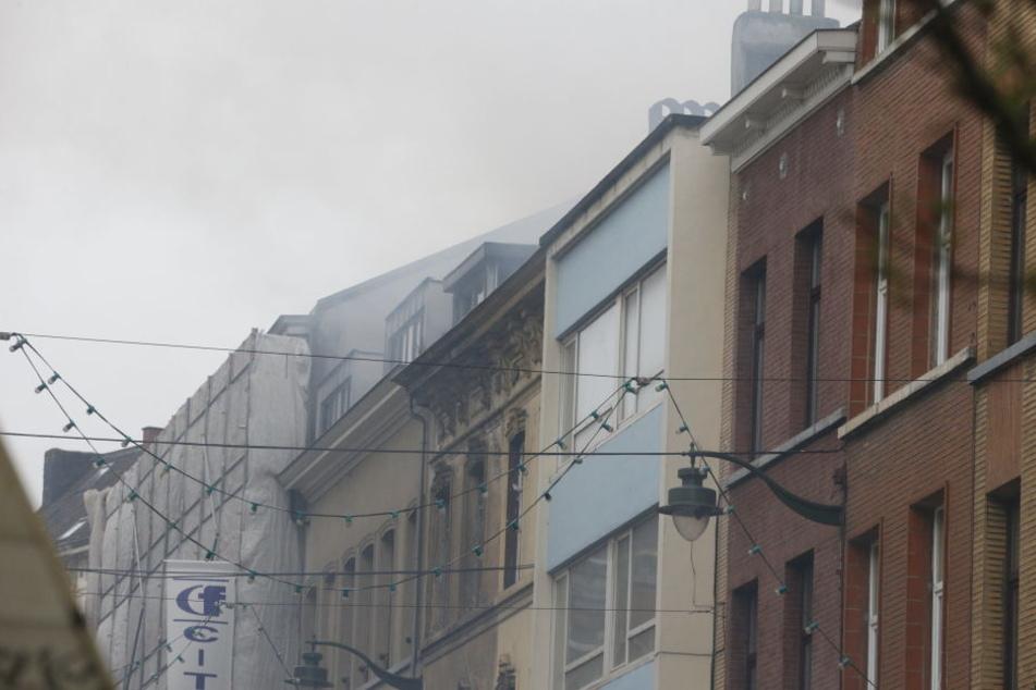 In einem Gebäude in Brüssel gab es am Samstag eine schwere Gasexplosion.